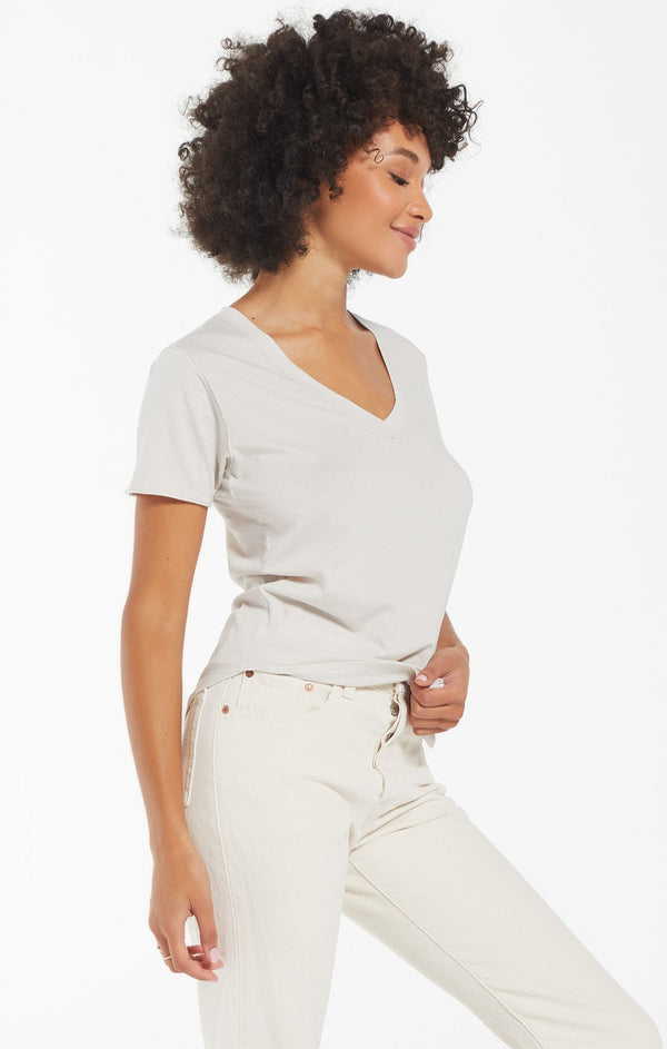 The Organic Cotton V-Neck