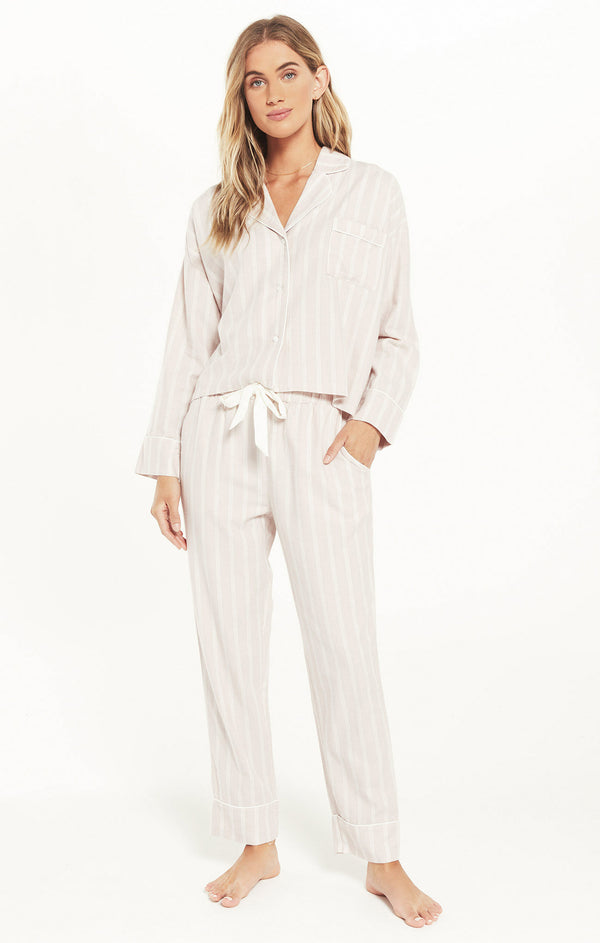 Dream State Stripe PJ Set