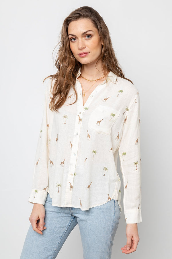 Charli Button-Up Shirt
