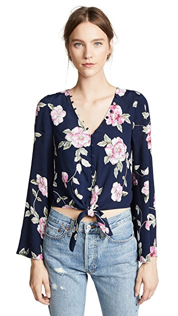 Jerome Floral Button Blouse