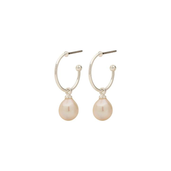 Eila Silver Pearl Earrings