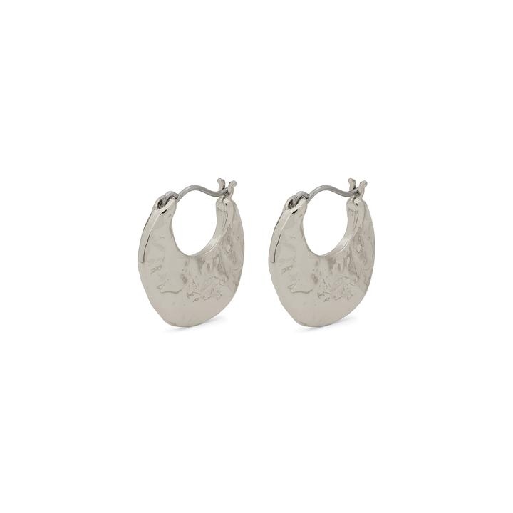 Marley Silver Disc Earrings