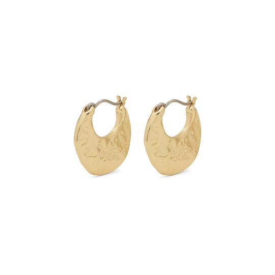Marley Gold Disc Earrings