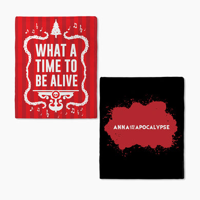 Anna and the Apocalypse Time to be Alive Blanket
