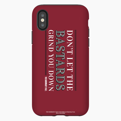 The Handmaid's Tale Don't Let the Bastards Grind You Down Red Phone Case