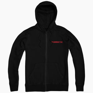 The Handmaid's Tale Nolite Te Bastardes Carborundorum Black Zip Up Hoodie