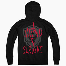 The Handmaid's Tale I Intend to Survive Black Zip Up Hoodie