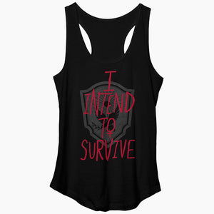 The Handmaid's Tale I Intend to Survive Black Tank