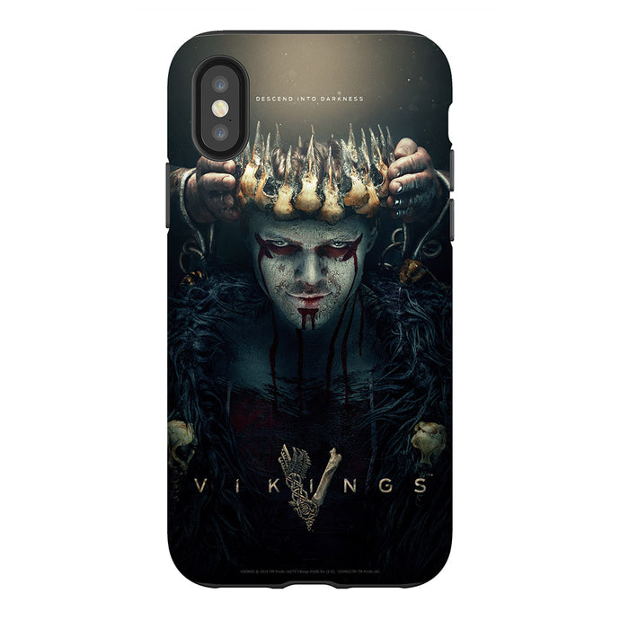 Vikings Descend Into Darkness Phone Case