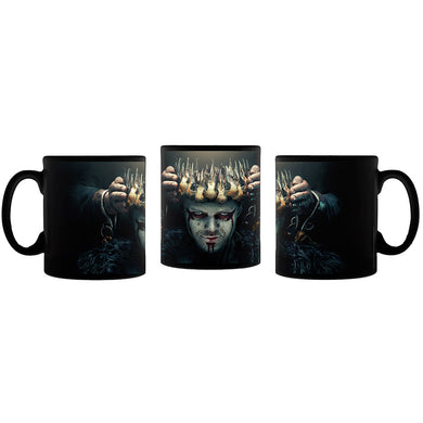 Vikings Key Art Black Mug