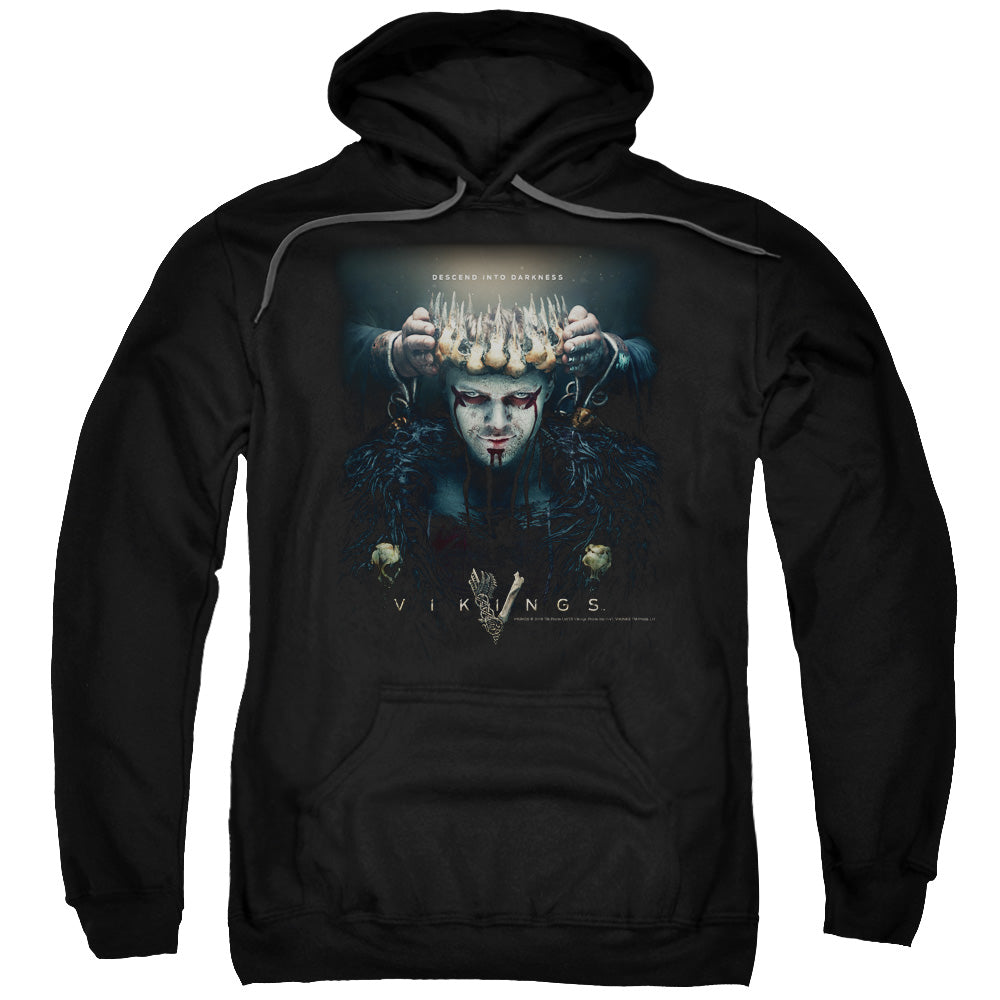 Vikings Key Art Crown Pullover Hoodie