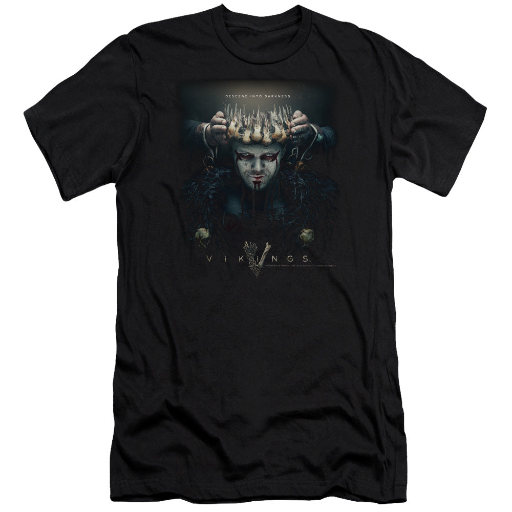 Vikings Key Art Crown T-shirt