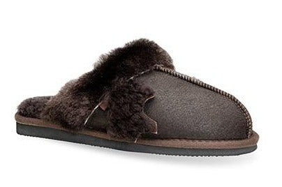 Lune 01 / Slipper W / Brown
