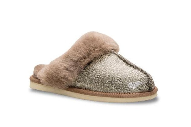 Lune 01 / Slipper W /Gold Shimmer