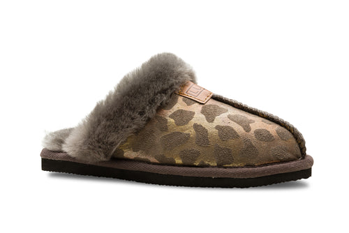 Lune 01 / Slipper W / Grey leo