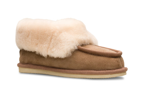 Lune 08 / Cosy Slipper W / Dark brown
