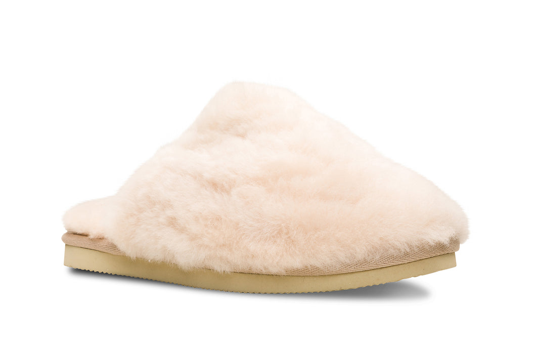 Lune 12 / Slipper Fluffy W / Beige