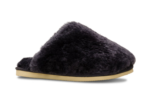 Lune 12 / Slipper Fluffy W / Navy