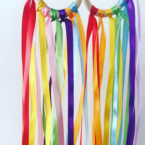 Rainbow Ribbon Ring / Ribbon Kite