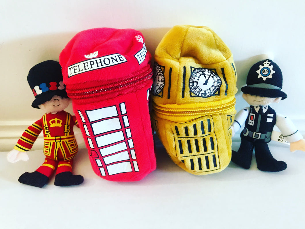 Beefeater and Policeman Zippee Set