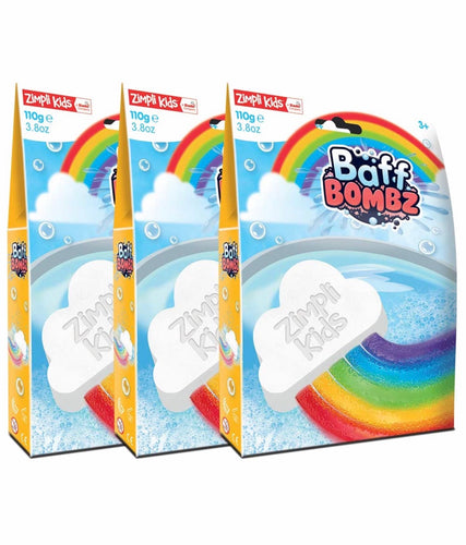 Zimpli Kids Rainbow Cloud Baff Bomb