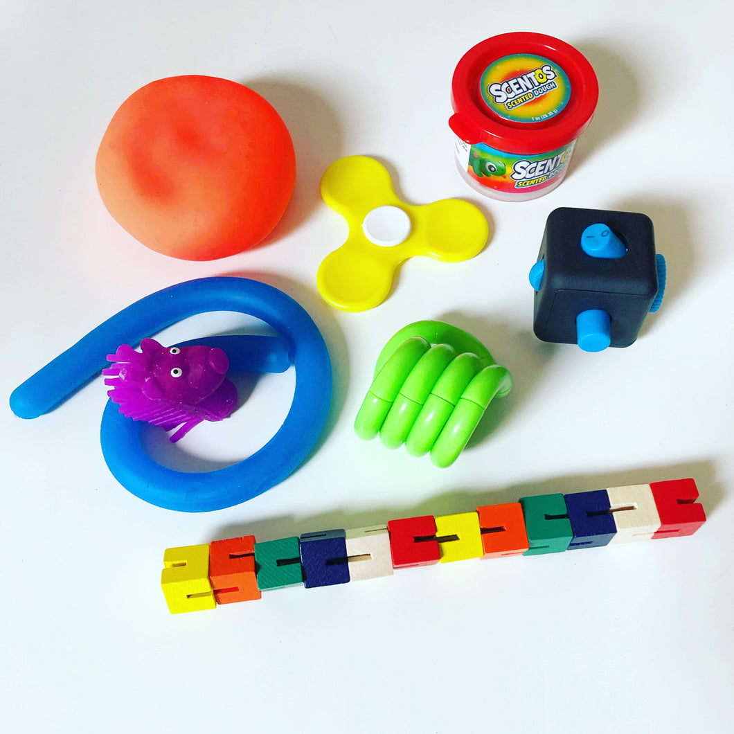 fidget toys anxiety stress relief sensory play