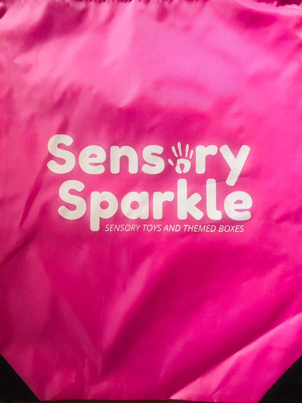 Sensory Sparkle Drawstring Bag