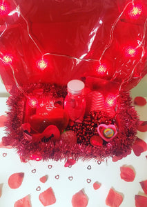 valentines red heart sensory box special needs toys
