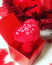Load image into Gallery viewer, heart in the box valentines cause and effect sensory toy