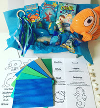 Load image into Gallery viewer, Under The Sea Themed Sensory Box