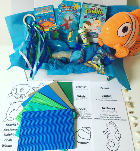 Under The Sea Themed Sensory Box