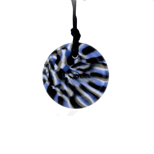 Chewigem Camouflage Button Necklace