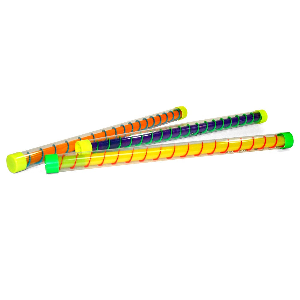 Colourful Groan Tube With A Spiral Of Beads