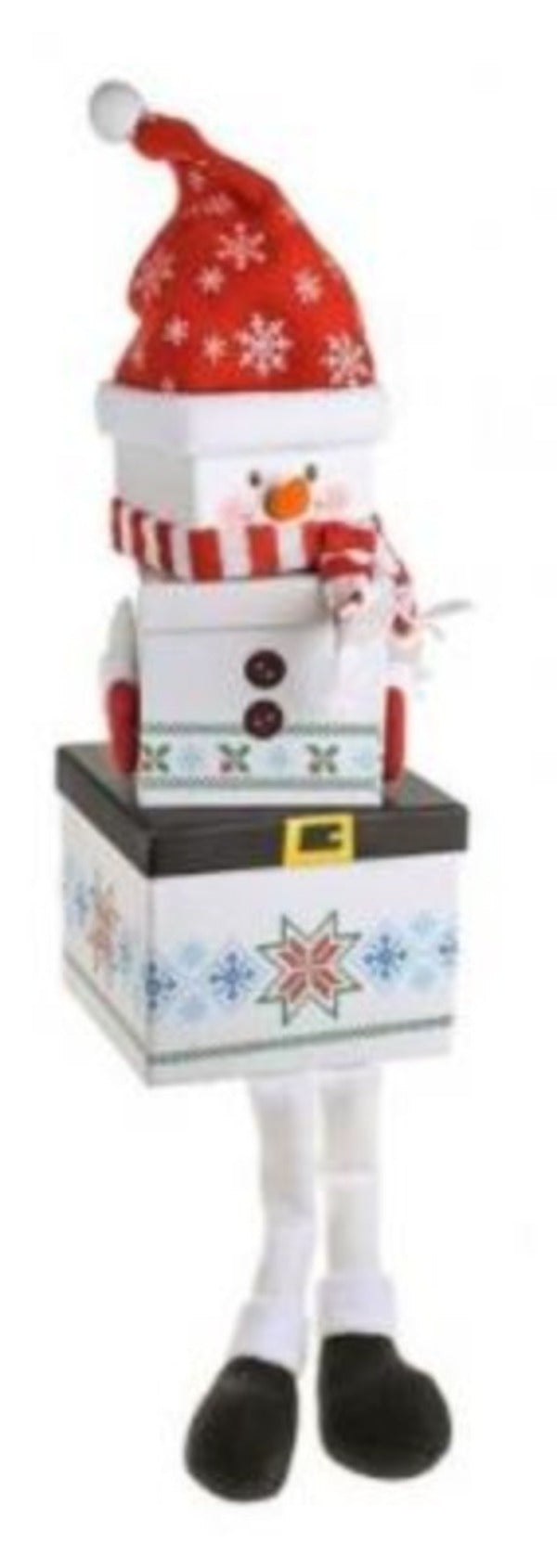 Snowman Stackable Christmas Gift Boxes