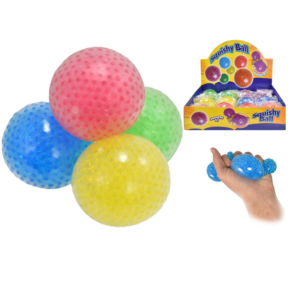 squishy beaded  sensory ball