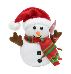 Snowman with Voice Recorder
