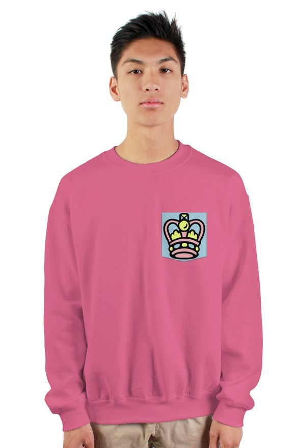 Blue/Pink Sweatshirt