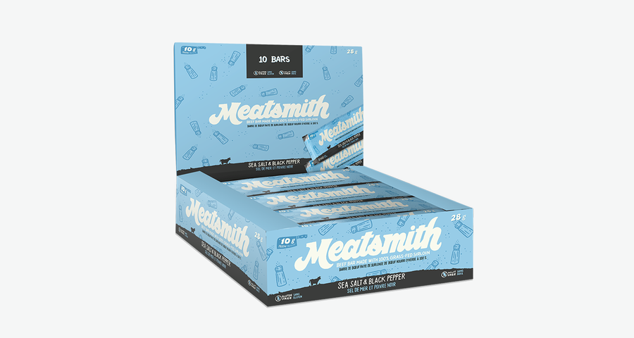 Meatsmith Meat Bar Monthly Subscription - Sea Salt & Black Pepper