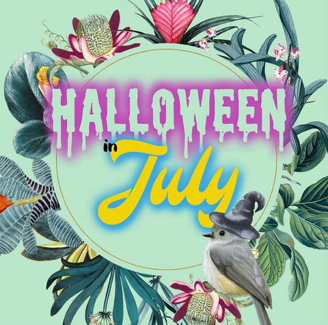 halloween in July event at Songbird Boutique in Long Beach, CA