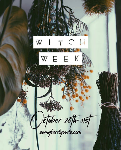 Witch Week event at Songbird Boutique in Long Beach, CA