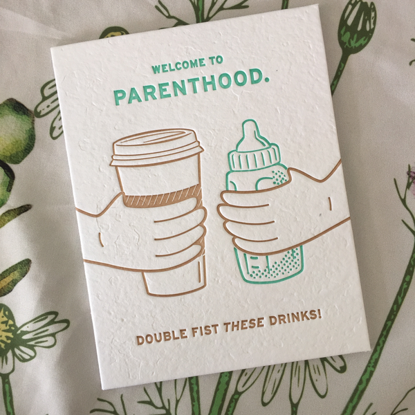 funny new parent card