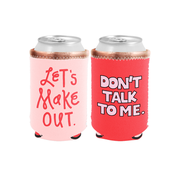Don't Talk to Me Reversible Coozie