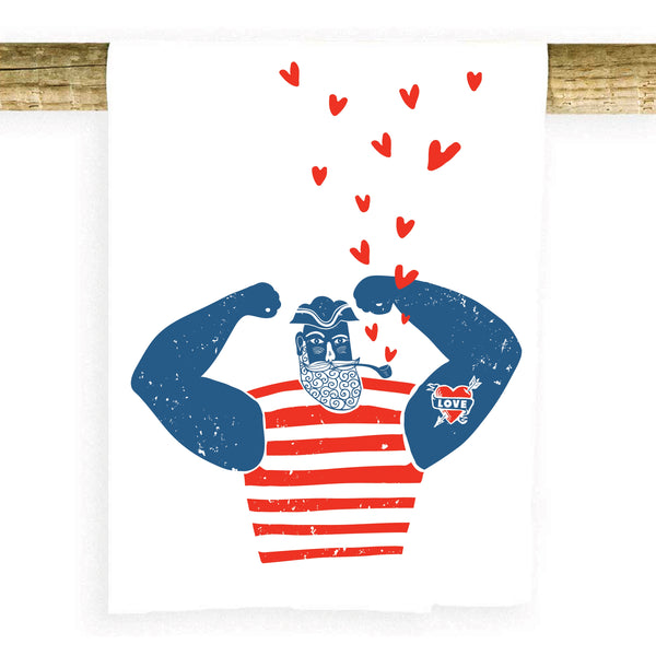 Love Sailor Towel