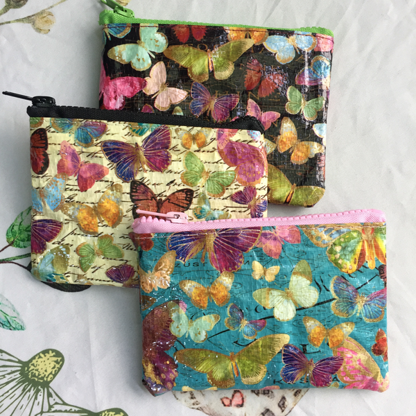butterfly coin purses