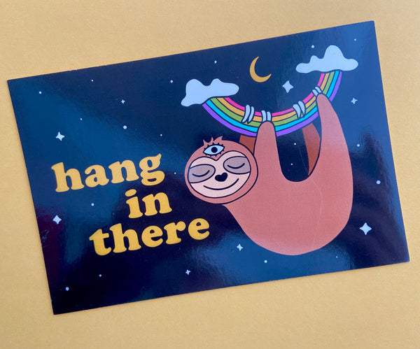 Hang In There Post Card