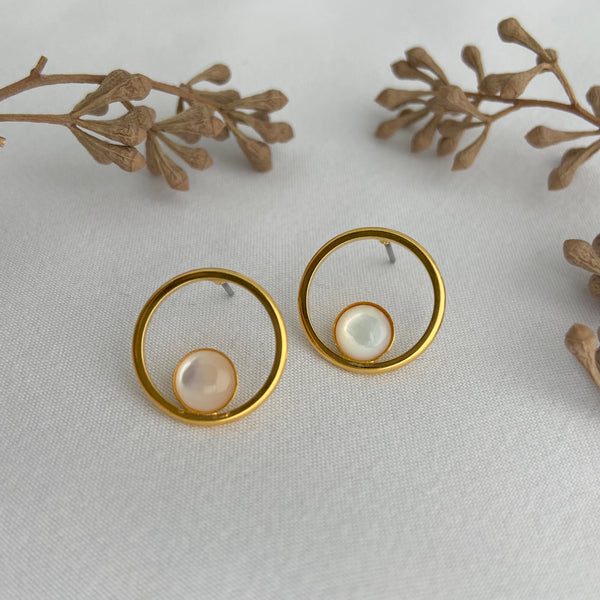 Orbit post Earrings