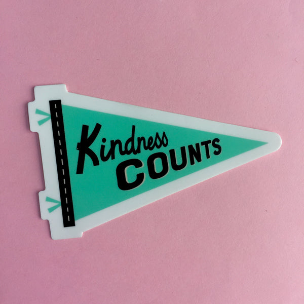 Kindness Counts Sticker