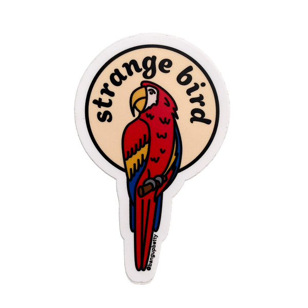 Strange Bird Sticker