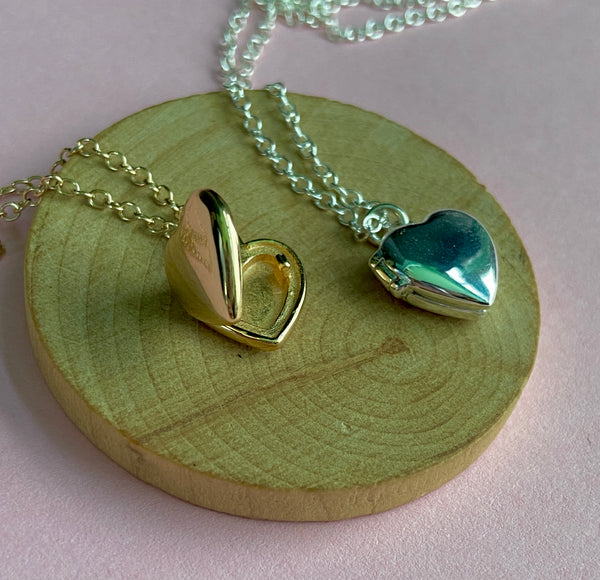 Itty Bitty Locket Necklace