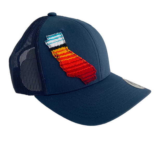 california serape snapback hat